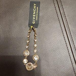 Givenchy crystal Swarovski rose gold bracelet